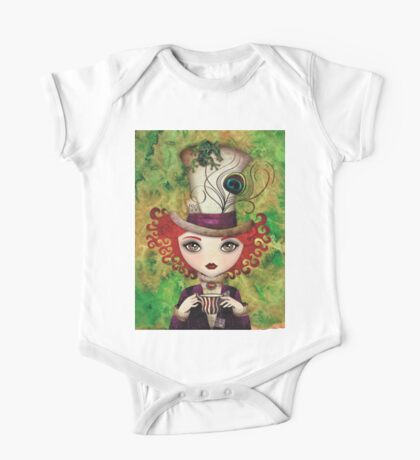 Lady Hatter One Piece - Short Sleeve