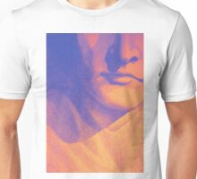 Colorful detail drawing of man face Unisex T-Shirt