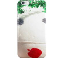 Contemporary Christmas - Little Angel iPhone Case/Skin