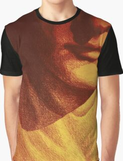 Colorful detail drawing of man face Graphic T-Shirt