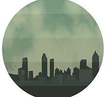 Atlanta Skyline by Hello I'm Nik