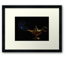 Ancient Lamp Framed Print