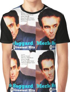 MERLE HAGGARD ALBUMS 2 Graphic T-Shirt
