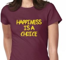 Shaytards - Happiness is a Choice Womens Fitted T-Shirt