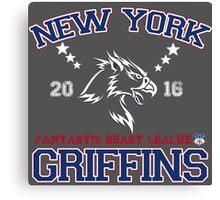 New York Griffins Canvas Print