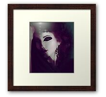 fantasy woman portrait Framed Print