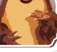 Happy Holidays from the Holiday Armadillo Sticker