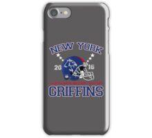 New York Griffins (helmet) iPhone Case/Skin