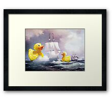 Terror on the High Seas 2 Framed Print