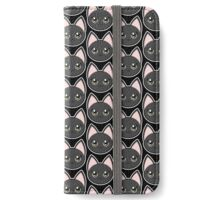 Black Anime Eyes Cat iPhone Wallet/Case/Skin
