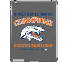 Denver Basilisks Super Cauldron 50 iPad Case/Skin