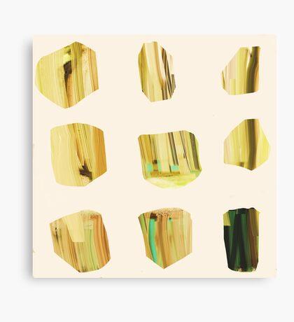 Quartz Yellow Canvas Print