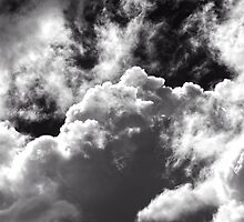 Powerful Storm Clouds Gathering by Ronald Rockman