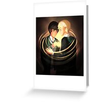 Scorpius Malfoy and Albus Potter Greeting Card