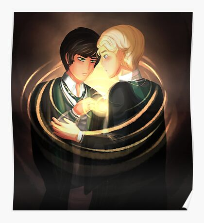 Scorpius Malfoy and Albus Potter Poster