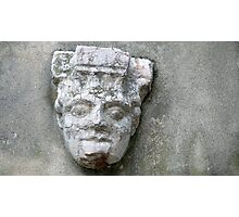 Stone face Photographic Print