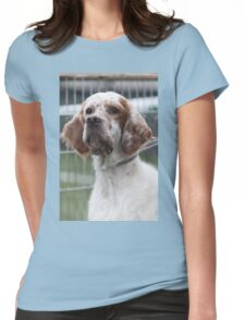 pointer dog Womens Fitted T-Shirt