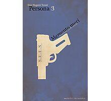 Persona 3 Minimalist Poster Photographic Print