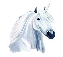 Unicorn Photographic Print