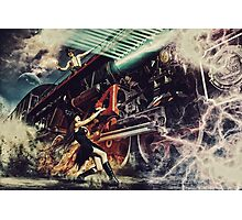 Witch stop train Photographic Print
