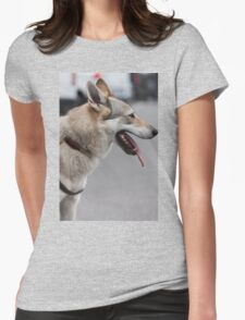 Czechoslovakian wolfdog Womens Fitted T-Shirt