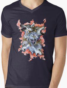 Anger Mens V-Neck T-Shirt
