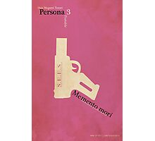 Persona 3 Portable Minimalist Poster Photographic Print