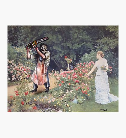 Not the Gardener Photographic Print