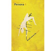 Persona 4 Minimalist Poster Photographic Print