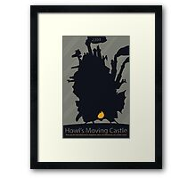 Moving Castle Framed Print