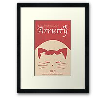 Arrietty Framed Print