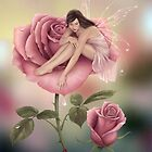 Rose Flower Fairy by Rachel Anderson