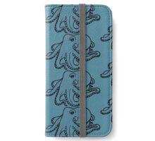 Octopus iPhone Wallet/Case/Skin