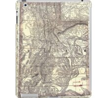 0174 Railroad Maps Indexed map of Utah with a new and original compilation and iPad Case/Skin