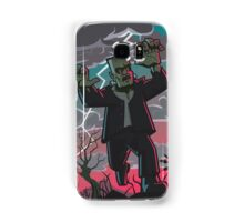 frankenstein creature in storm  Samsung Galaxy Case/Skin