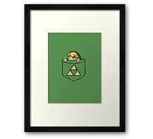 Pocket Link Framed Print