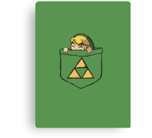 Pocket Link Canvas Print