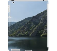 Steep Shores and Green Summer Light - a Mountain Lake Impression iPad Case/Skin
