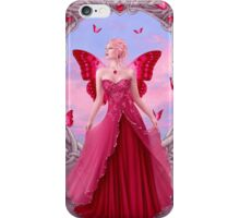 Ruby Birthstone Fairy iPhone Case/Skin
