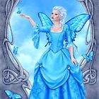 Blue Topaz Birthstone Fairy by Rachel Anderson