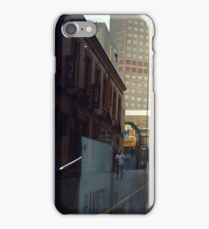 Below The Yellow Line iPhone Case/Skin
