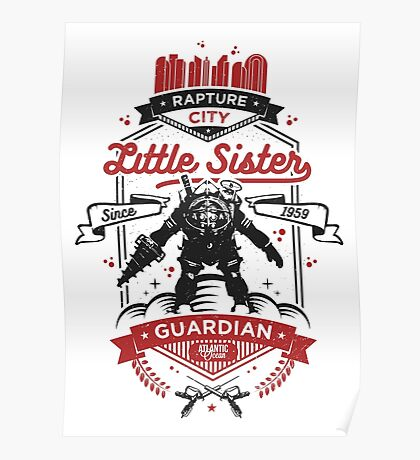 Little Sister Protector Poster
