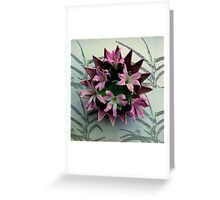 Point A To Point C Greeting Card