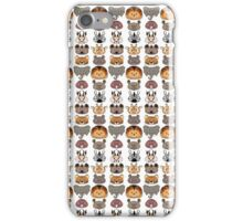 African animals design iPhone Case/Skin