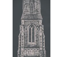 Gothic Church Tower Photographic Print