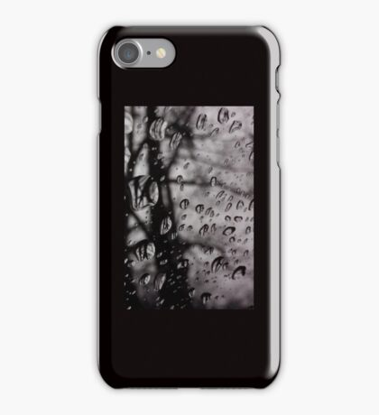 Trees In The Rain iPhone Case/Skin