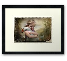 14-Captured Memories-Not the perfect world Framed Print