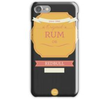 rum iPhone Case/Skin