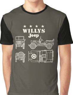 Willis Jeep Graphic T-Shirt