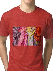 colorful scarf Tri-blend T-Shirt